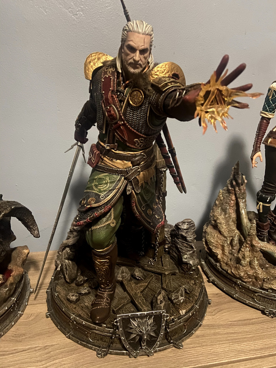 Geralt of Rivia Undvik Armor