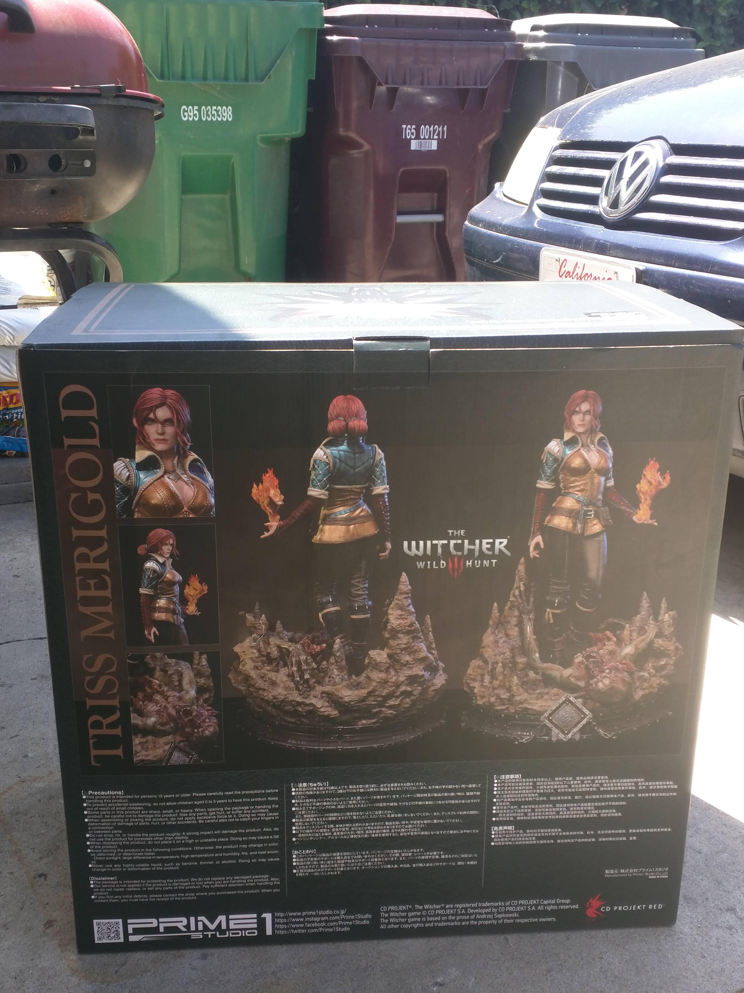 Triss Merigold Prime 1 Studio Box